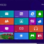 Pantalla de Inicio Windows8
